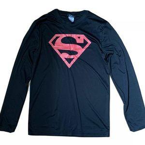 🔥Superman Long Sleeves Shirt Small